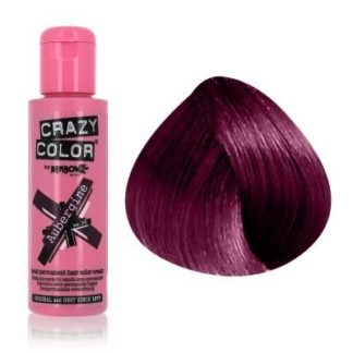 crazy color aubergine 100 ml colore semi permanente