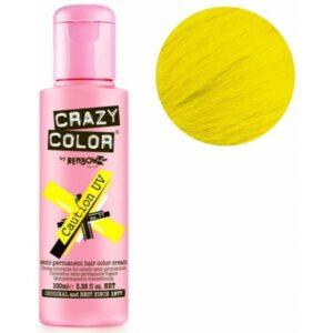 crazy color caution uv 100 ml colore semi permanente