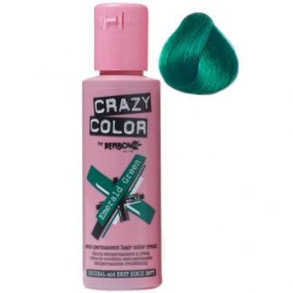 crazy color emerald green 100 ml colore semi permanente