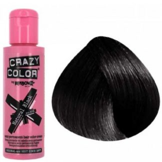 crazy color natural black 100ml colore semi permanente