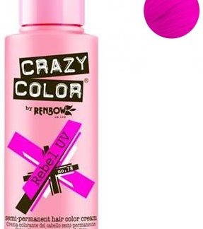 crazy color rebel uv 100 ml colore semi permanente