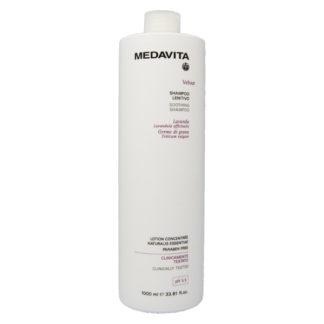 shampoo lenitivo 1000 ml medavita velour in promozione