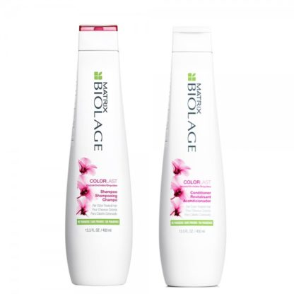 Colorlast shampoo conditioner 400 ml capelli colorati