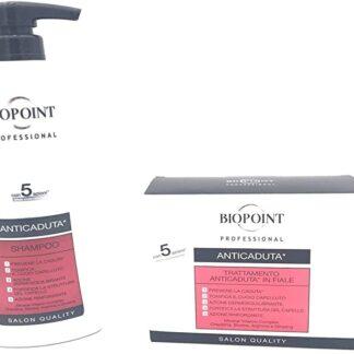 Biopoint KIT capelli anticaduta Shampoo 400 ml + Fiale 10X7ML offerta web