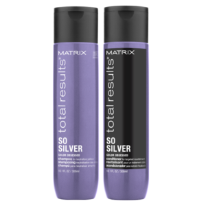 So Silver Conditioner Shampoo 300 ml Total Result offerta Bellezza Marketing