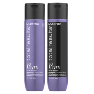 So Silver Conditioner Shampoo 300 ml Total Result offerta Bellezza Marketing