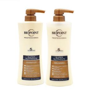 Biopoint shampoo balsamo SuperNutrente 400 ml offerta Bellezza Marketing