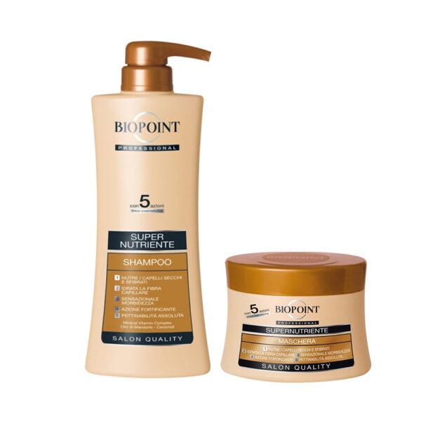 Biopoint shampoo maschera SuperNutriente offerta Bellezza Marketing